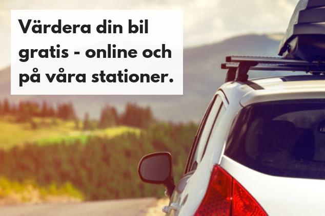 värdera bil online gratis