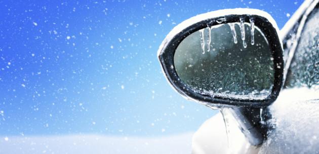 Vinter och bil